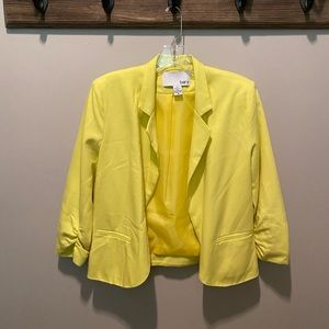 Bar III - Yellow Summertime Jacket - Size M